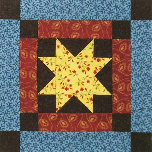Civil War Quilts: Threads of Memory 6: Salem Star for Charlotte Forten Grimké