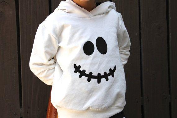 Ghost Hoodie ONLY Toddler Ghost Costume Baby Ghost by MEandREEKIE