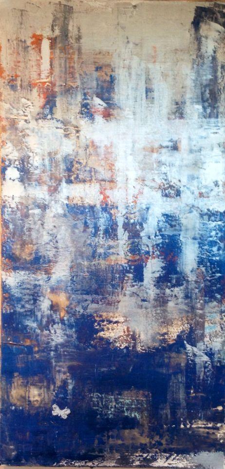 Silver sea. By Monika Holte https://www.facebook.com/MonikaHolteArt/