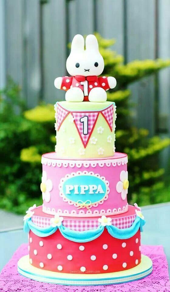 Fun Miffy cake