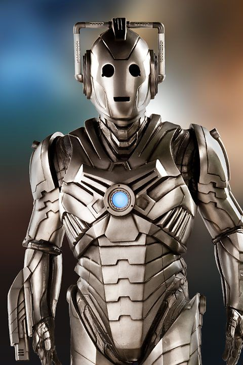 "Too much Doctor Who: I read the words ""cyber attack"" and all I think of is this.  BBC One - Doctor Who, Series 8 - Cybermen"