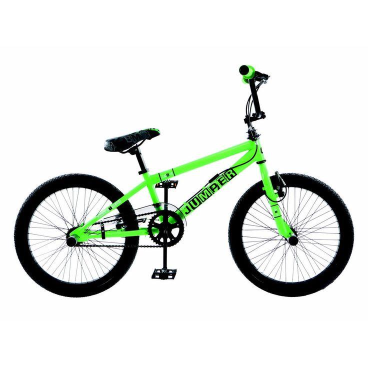 BMX pas cher pour Freestyle vert fluo