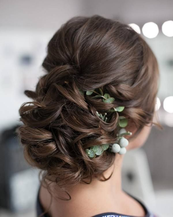 65 New Romantic Long Bridal Wedding Hairstyles To Try: 1000+ Images About Wedding Hairstyles On Pinterest