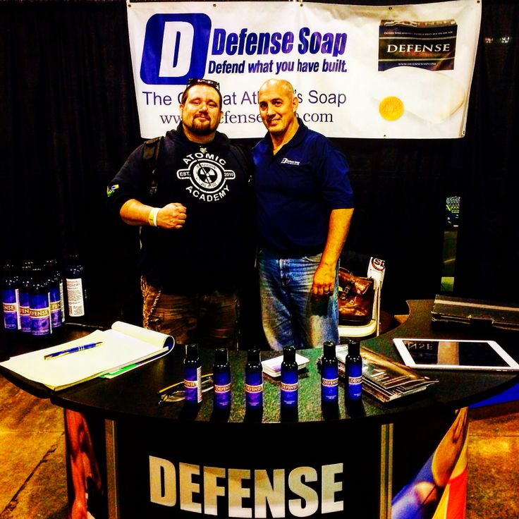 Atomic Jiu Jitsu has joined the Defense Soap Wholesale Program. And so can you for FREE. For more information on how to get Defense Soap products at the lowest prices contact Blake@defensesoap.com