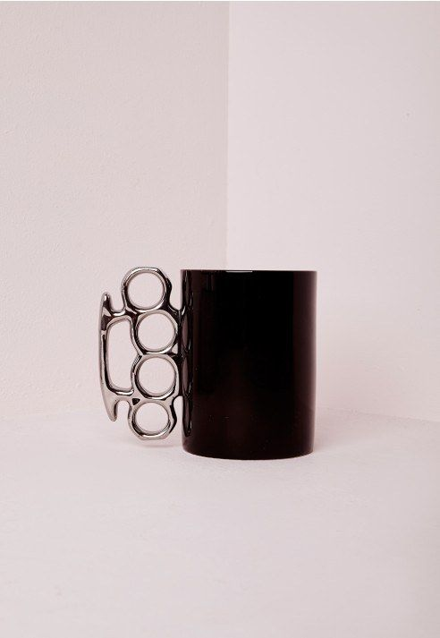 Missguided Knuckle Duster Mug, £12.00 | 17 Gifts For People Who Love To Wear Black