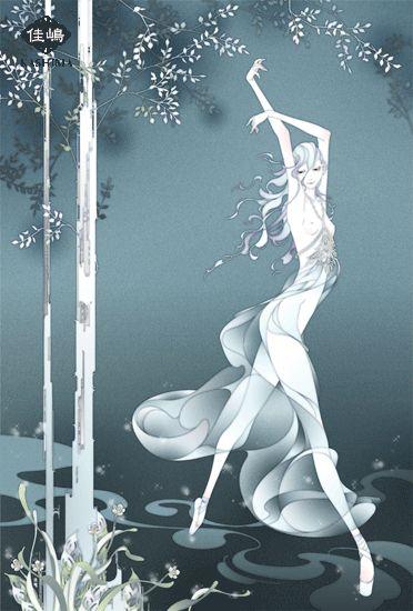 "Art by Kashima. ""Swan"" 「白鳥」"