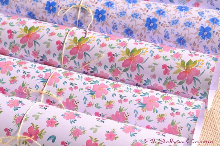 Papeles bonitos para vestir y decorar jabones para - Papeles para decorar ...