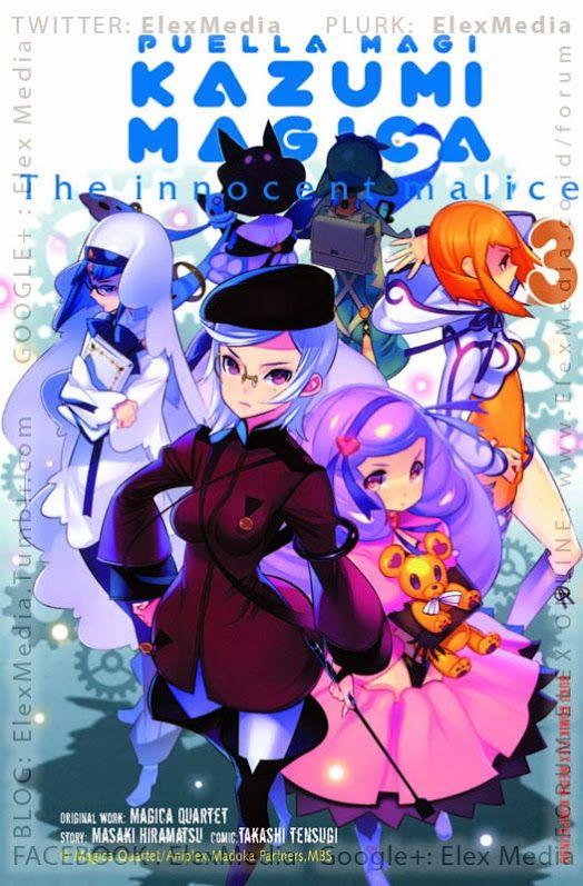 Teman2 Kazumi masih menyimpan byk rahasia dari dirinya! PUELLA MAGI KAZUMI MAGICA 03 http://ow.ly/KXgwQ text http://ow.ly/KXgxK Harga: Rp. 20,000