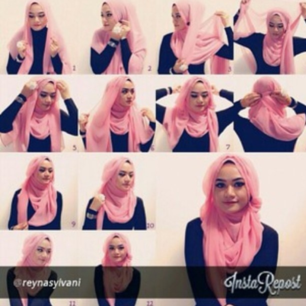 Hijab is my must to do thing , daily, formally and causally , It's what makes me beautiful !