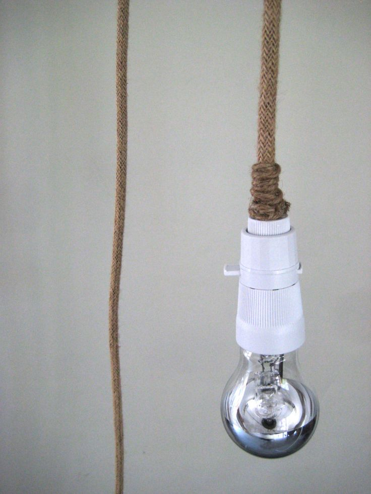 Plug In Pendant Light Make To Order with Linen Electrical Cord Vintage B22 LampHolder With on/off Switch | Relaxed Ambiance Natural Organic by warnaacorner on Etsy