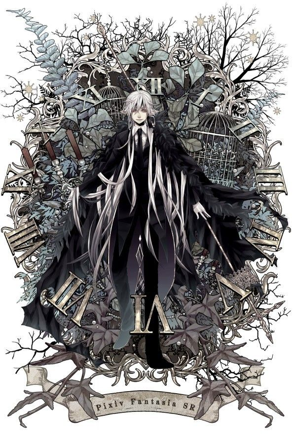 Black Butler - My favourite character, Undertaker.