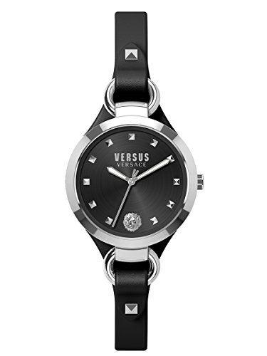 Versus by Versace Women's Roslyn Analog Display Quartz Black Watch