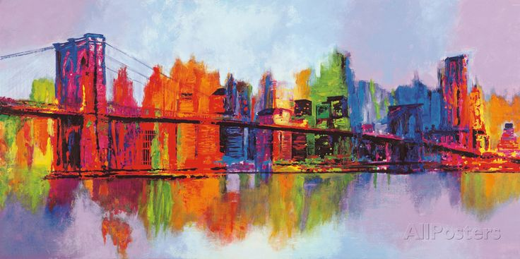 Abstract Manhattan Art Print at AllPosters.com