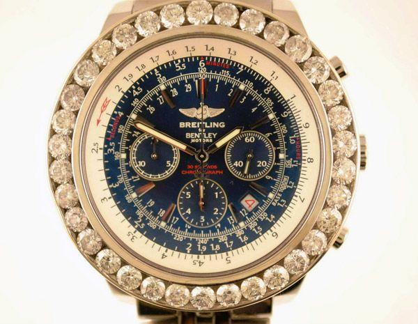 Breitling For Bentley Motors Limited Chronograph-SS-Diamond Bezel - http://menswomenswatches.com/breitling-for-bentley-motors-limited-chronograph-ss-diamond-bezel/ COMMENT.