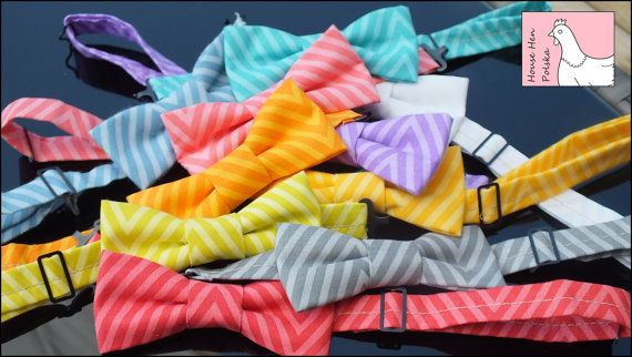Little Boy Bow Ties by HouseHenPolska on Etsy