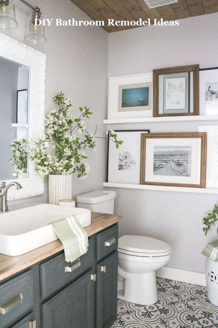 Incredible Diy Ideas For Bathroom Makeover Remodel Remodeling Bathrooms Remodel Bathroom Remodel Master Cheap Bathroom Remodel