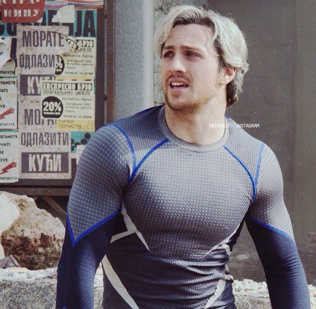 Aaron Taylor-Johnson as Pietro Maximoff/Quicksilver ...
