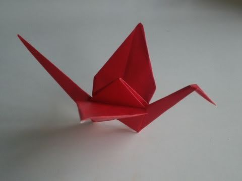 How to Make a Paper Crane 3