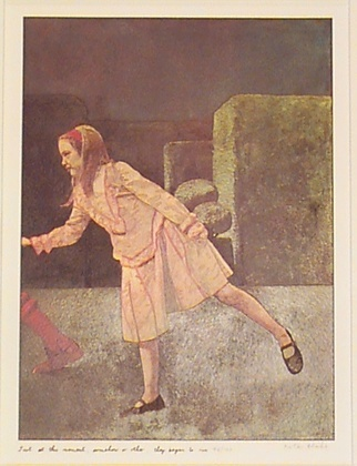 Alice Through the Looking glass by Peter Blake by Alliecat18, via Flickr