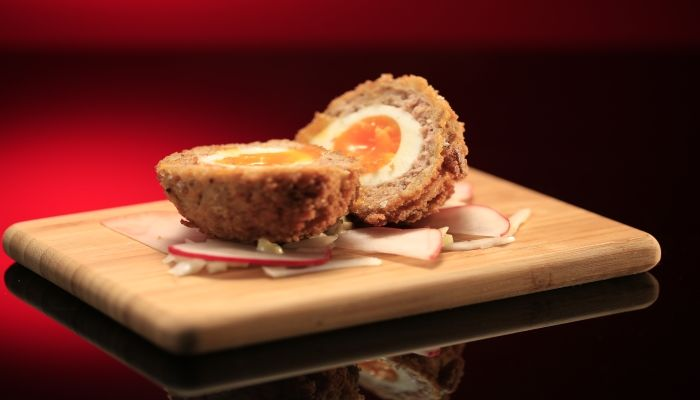 Will and Steve's Scotch Egg with Herb Mayonnaise