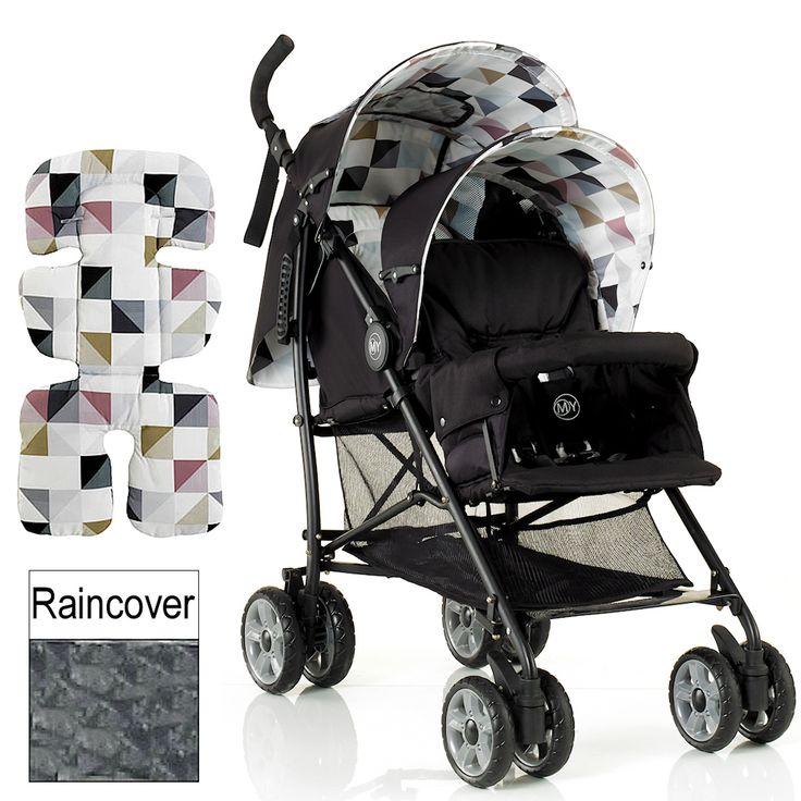 My Child Sienta Duo Tandem Pushchair - Geo   Buy at Online4baby