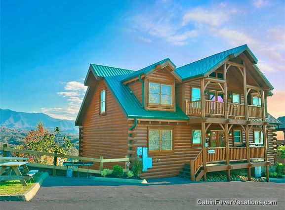 65 Best Large Cabins In The Smokies Images On Pinterest