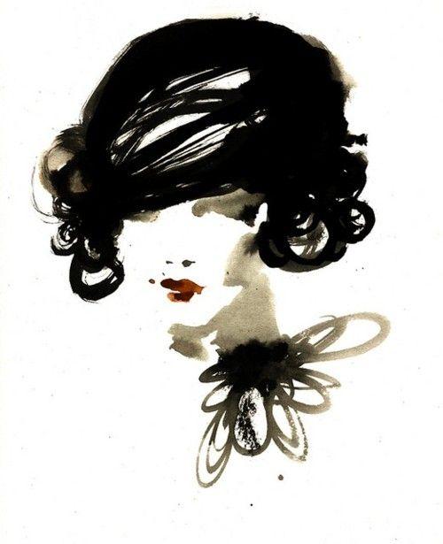 <3 #art #fashion #illustration