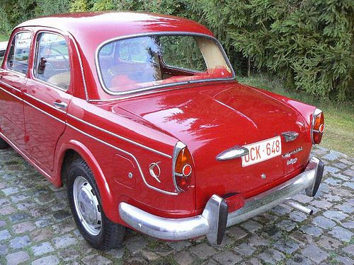 FIAT 1100 millecento van 1960 r, via Flickr.