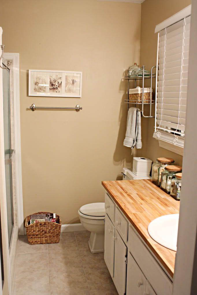 Butcher block counter bathrooms pinterest - Butcher block countertops in bathroom ...