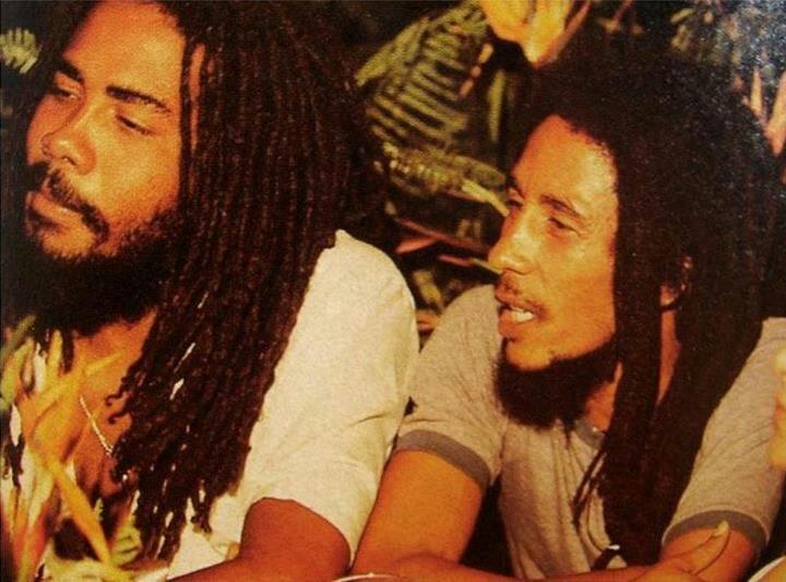 Jacob Miller and Bob Marley