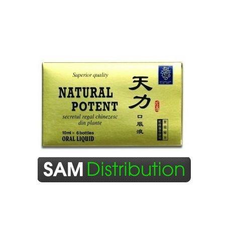 Poze Natural Potent, 6 fiole - potenta