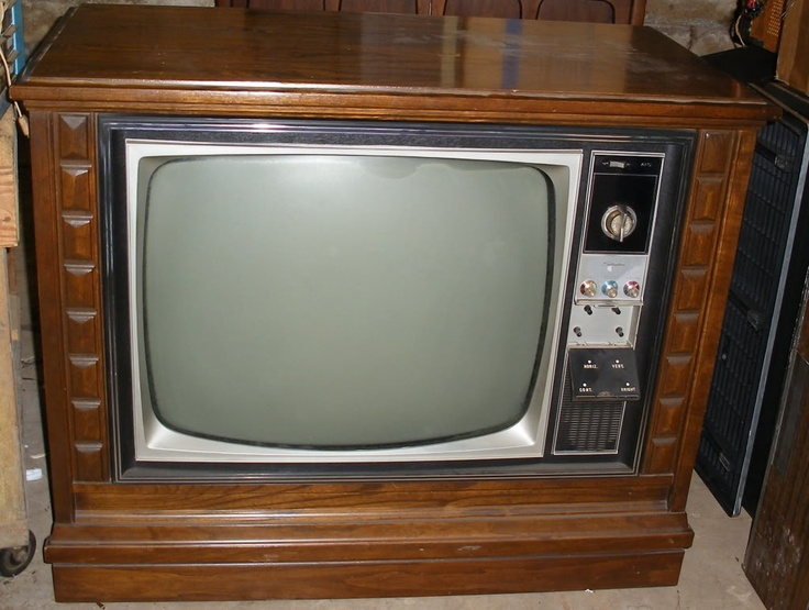 Notice children of today...those are knobs for us 70's children to turn for our parents. We were the remotes. Plus, these tv's seemed to weigh a million pounds.