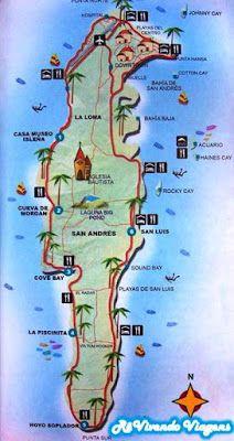 RêVivendo Viagens: RêVivendo a ilha de San Andrés