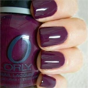 Orly Nail Polish in Plum Noir