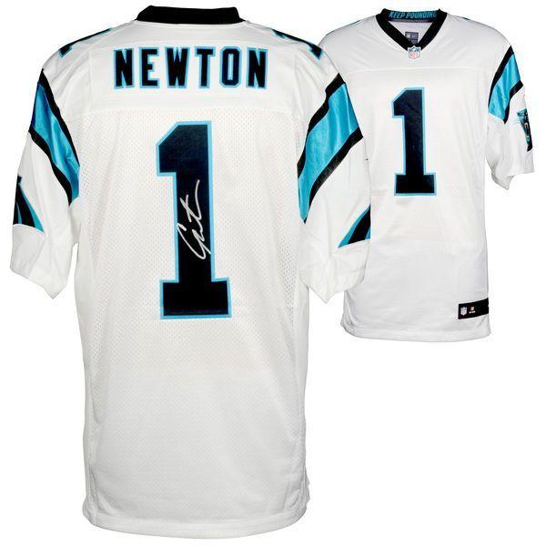 Cam Newton Carolina Panthers Fanatics Authentic Autographed Nike Elite White Jersey - $749.99