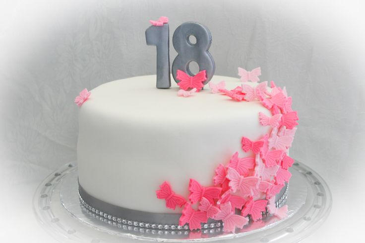 Cake Images For 18th Birthday : 1000+ images about 18 th girlie cakes on Pinterest