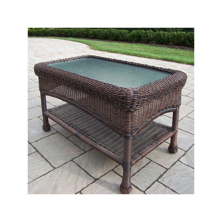 Used White Wicker Coffee Table: 25+ Best Ideas About Outdoor Coffee Tables On Pinterest