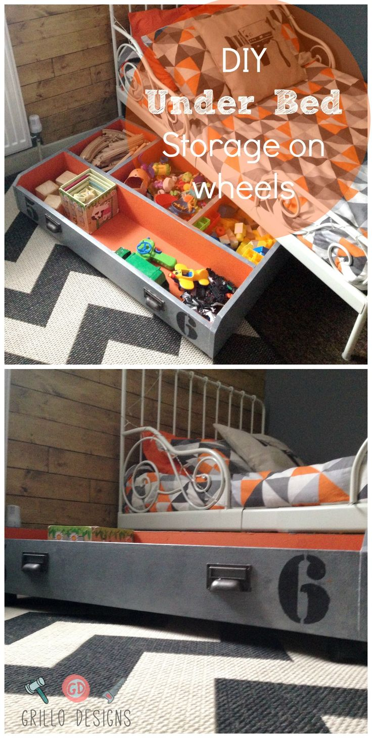 IKEA PAX DRAWER TO UNDER BED TOY STORAGE ON WHEELS! - Grillo DesignsGrillo Designs