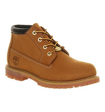 Timberland Nellie Chukka Double Waterproof Boot Wheat Nubuck - Ankle Boots