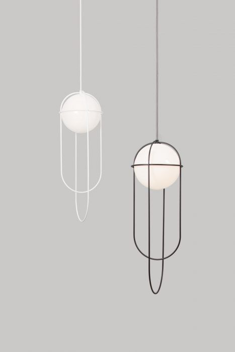 Orbit light takes its inspiration from the planetary orbits that are found around the sun