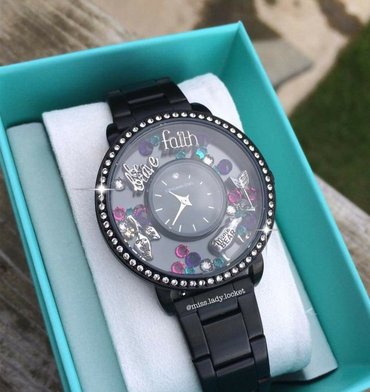 Origami Owl Black Watch Origami Tutorial Lets Make It