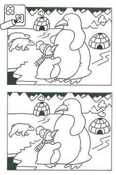 zoek de verschillen pinguin - Google zoeken
