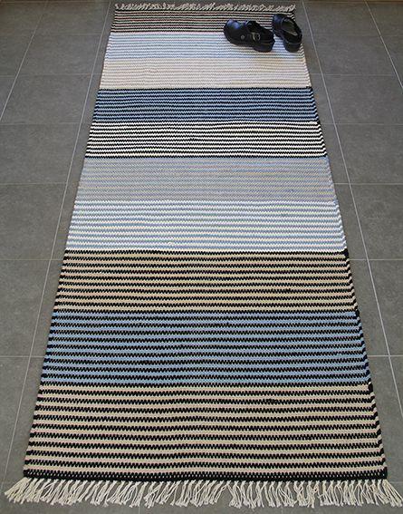 Puuvillamatto, sininen - Ratiashop