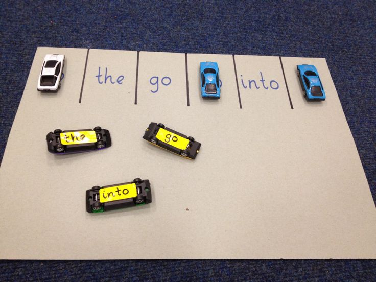 Phase 2 tricky word car park!