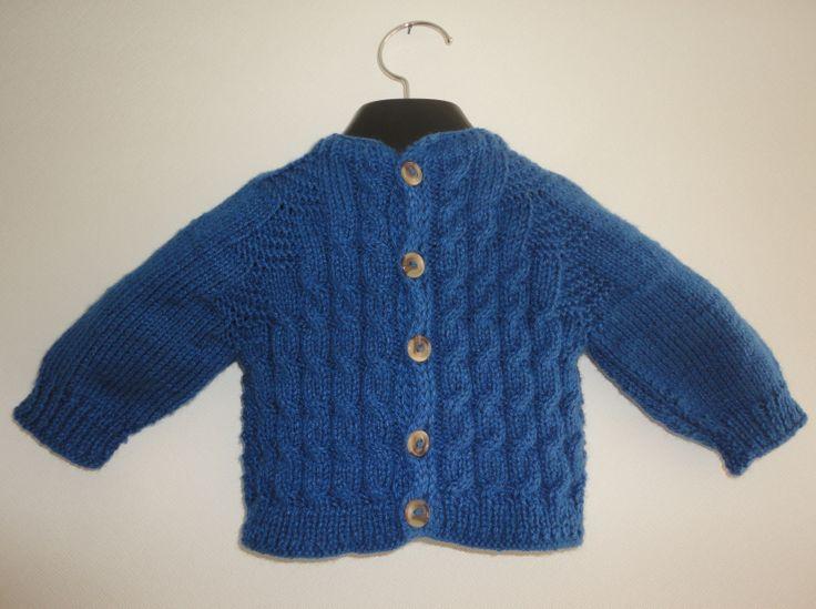 Chaleco bebé tricot  $5.500