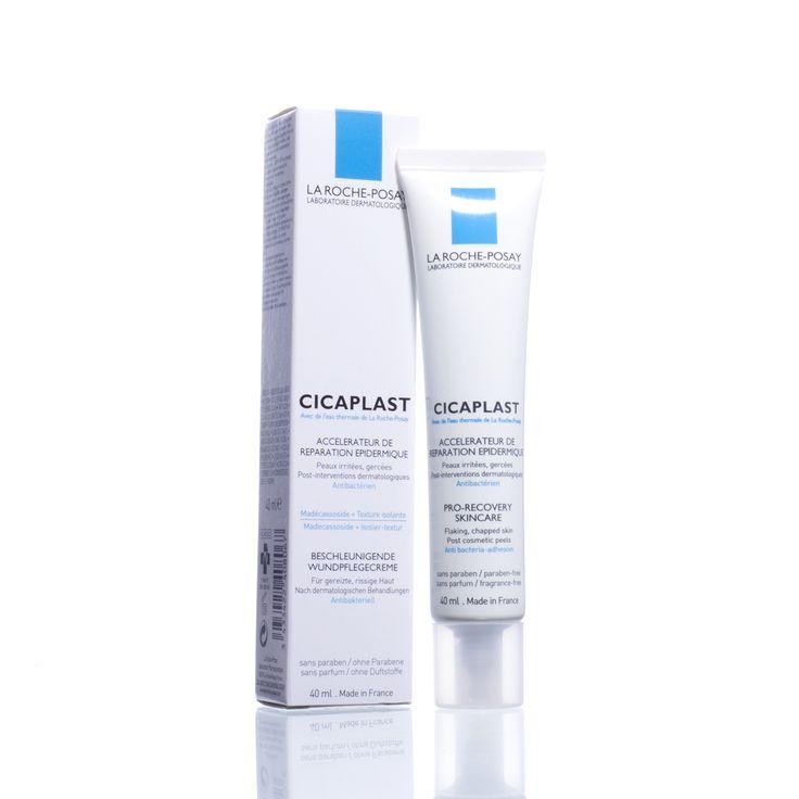 La Roche-Posay Cicaplast | Cicaplast versnelt het herstel van de geïrriteerde, gebarsten huid en van de huid na kleine dermatologische ingrepen. De huid wordt gekalmeerd, beschermd, gestimuleerd en herstelt zich sneller.