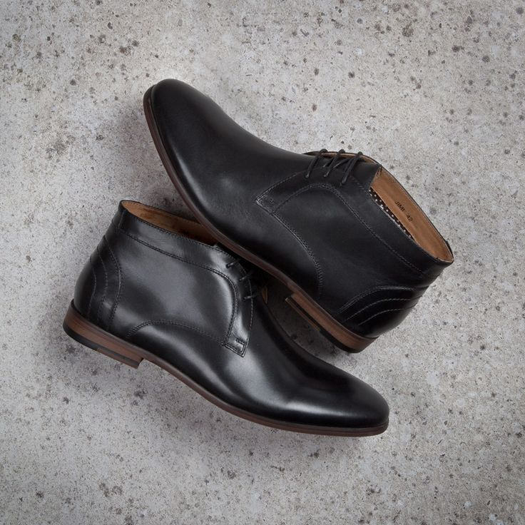 Smart and sophisticated the Peter James 'Jimi' ankle boots are here. Shop: https://www.shoeconnection.co.nz/mens/boots/lace-up-boots/peter-james-jimi-leather-lace-up-boot?c=Black