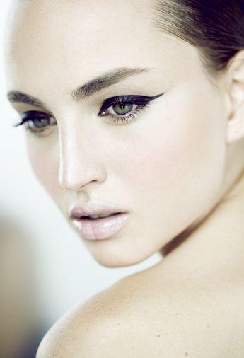 Flawless makeup.