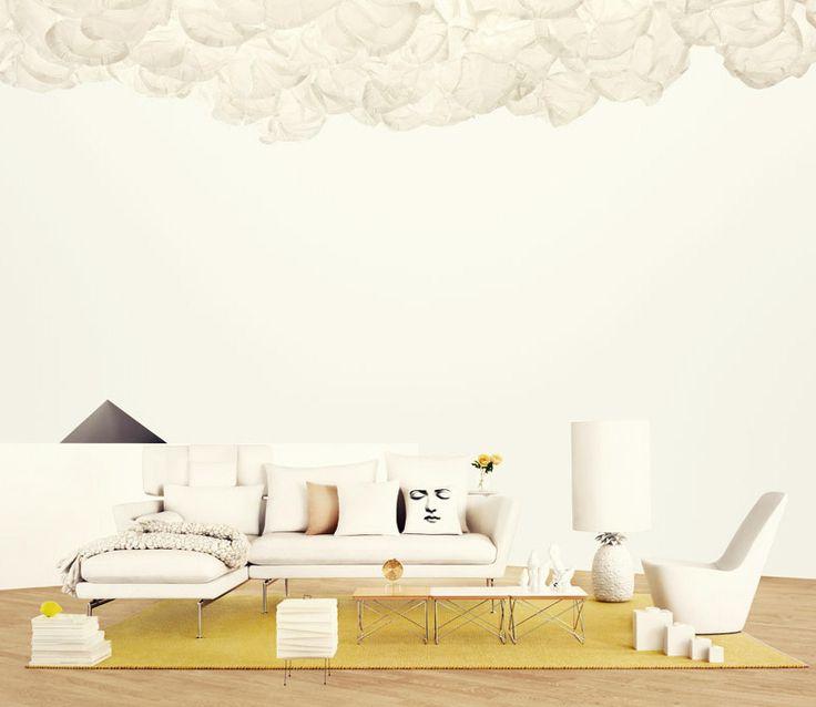 Entspannende Wohnzimmer Ideen Moderne Designs Zeitgemsses Wohnen Zimmer Zeitgenssischen Stil Weissen Kissen Ecke Frhling
