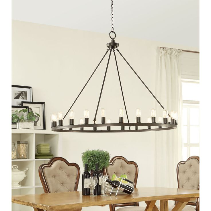 Hemsworth Oil Rubbed Bronze 24-light Chandelier By I Love